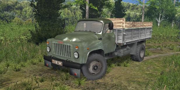 GAZ 53 Green (1)