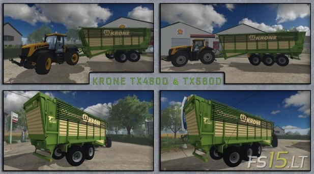 Krone TX460D and TX560D