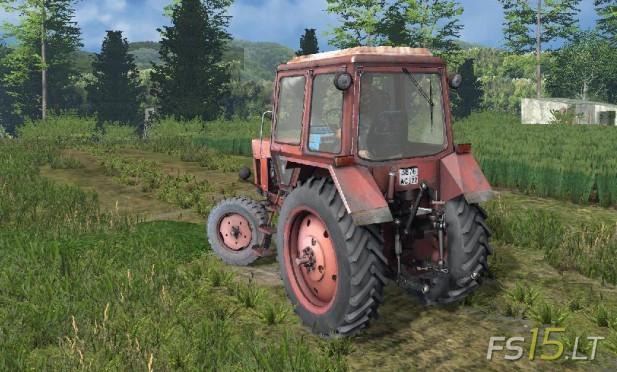 MTZ 80 Red (2)