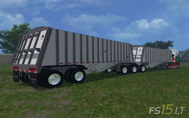 Merrit Super B Grain Trailers