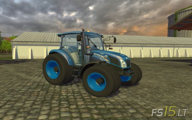 New Holland T105