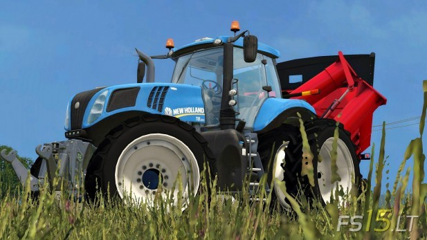 New Holland Wheel Textures