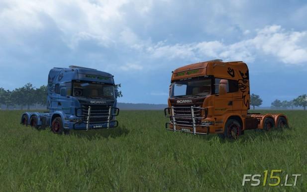 Scania R730 Euro Agrar