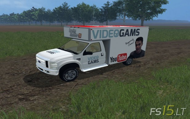 Videogams Canada Truck