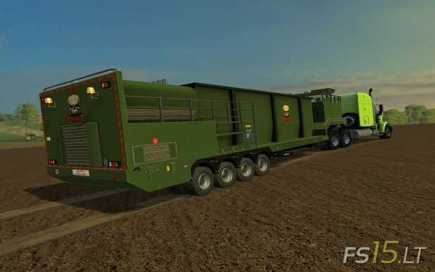 Wood Chippers Trailer