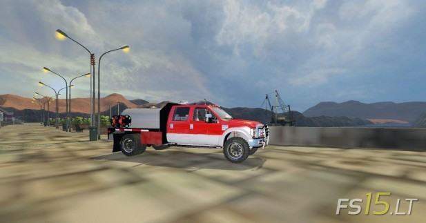 Ford-F350-Water-Tanker