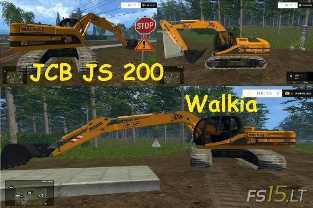 JCB JS 200 Walkia