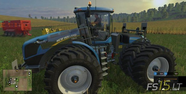 New Holland T9670