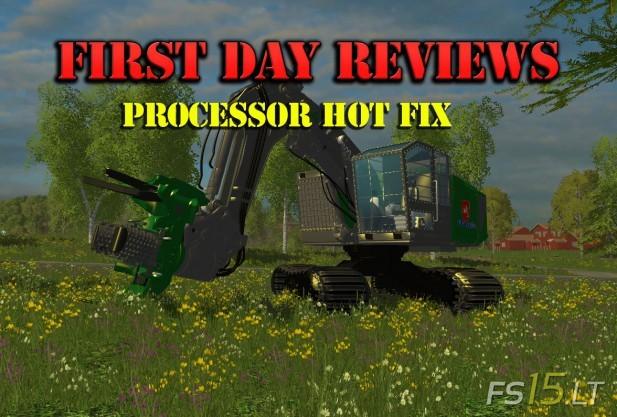 Processor-Hot-Fix