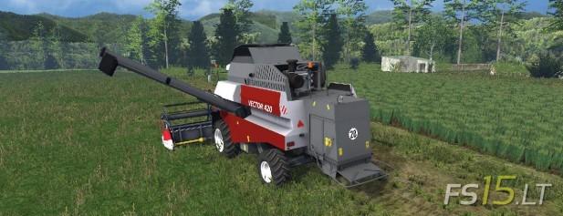 Rostselmash Vector 420 (2)