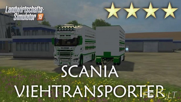 Scania-Viehtransporter