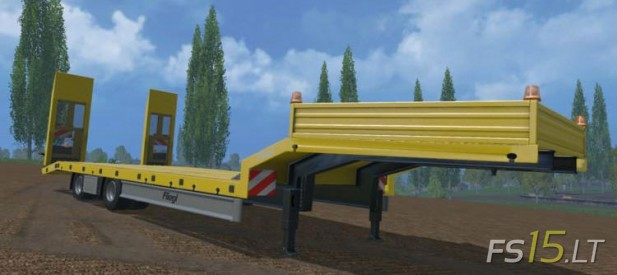 Wide-Fliegl-Low-Loader-Trailer