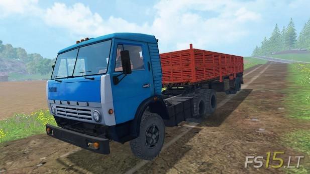 KamAZ-5410-Truck-&-Trailer