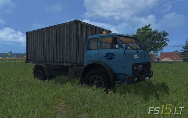 MAZ-509-with-Container