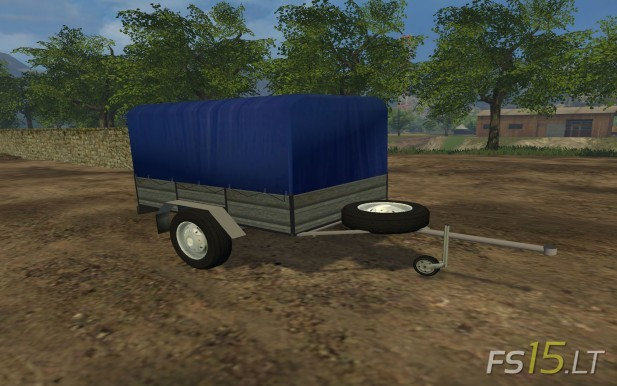Single-Axle-Trailer