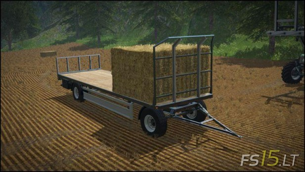 Bale Trailer | FS15 LT - Farming Simulator 2015 (FS 15) mods