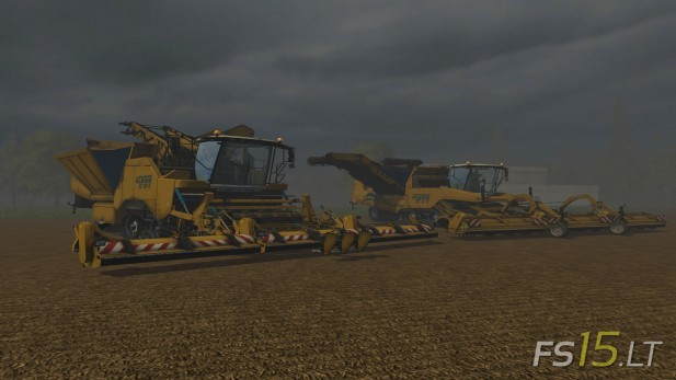 Small-Grimme-Harvesters