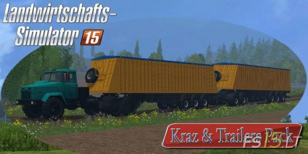 Kraz-and-Trailers-Pack-2