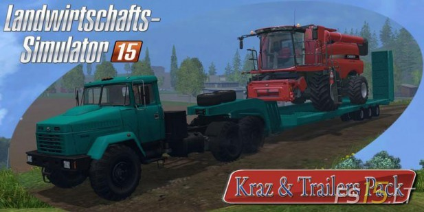 Kraz-and-Trailers-Pack-4