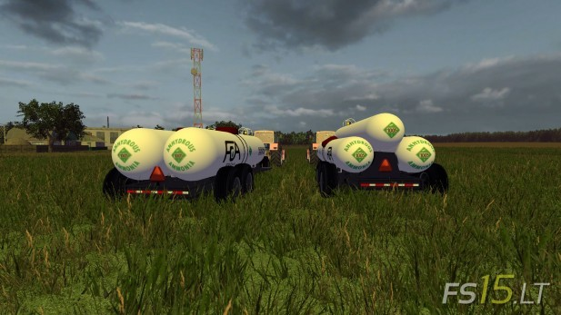 Double And Triple Anhydrous Tank Wagons V 1.0