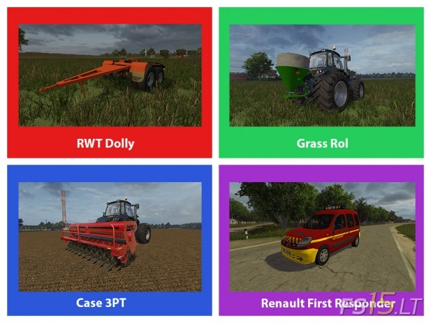 FS15 Mods Pack V4