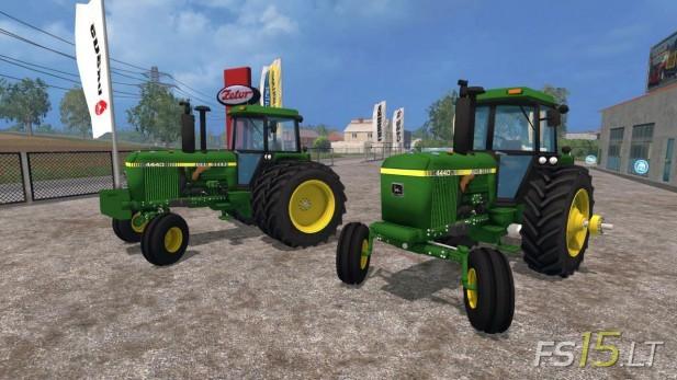 John Deere 4440 Rim : Tractors farming simulator mods fs lt part