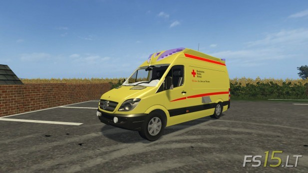 Mercedes-Ambulance