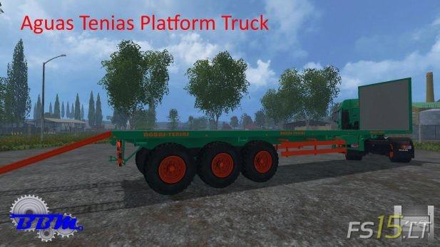 Aguas-Tenias-Platform-Truck