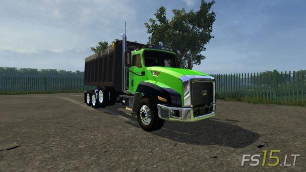 Cat Truck | FS15 LT - Farming Simulator 2015 (FS 15) mods