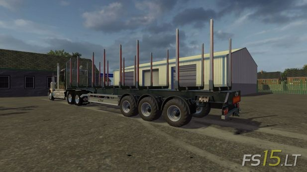 Fliegl-Autoload-Timber-Runner-Trailer