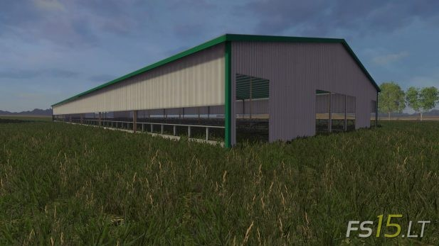 Free-Stall-Barn