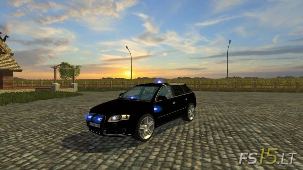 Audi-A4-Belgium-Police