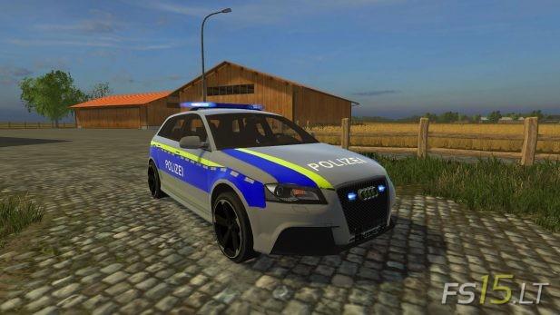 Audi-RS3-Polizei