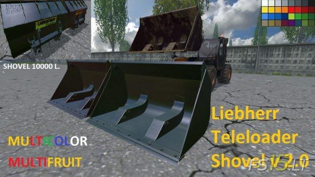 Liebherr-Teleloader-Shovel