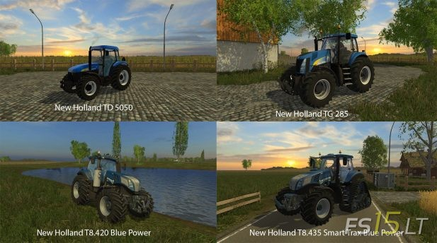 New Holland Tm | FS15 LT - Farming Simulator 2015 (FS 15) mods - Part 9