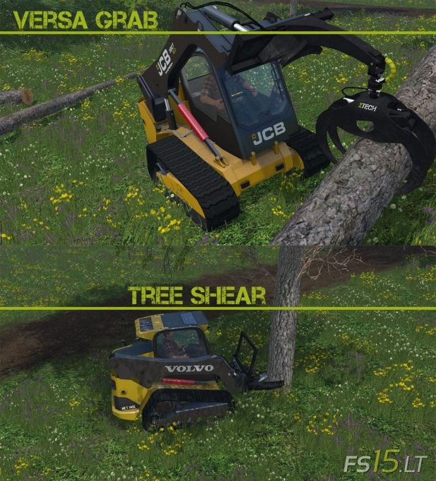 Skidsteer-Forest-Tools