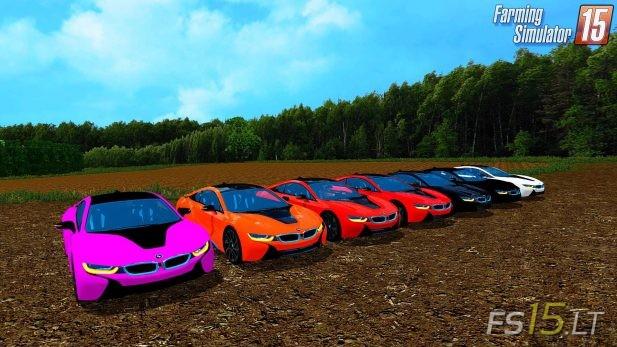 Bmw I8 Edrive V 1 7 Multicolor Fs15 Mods Fs15 Lt
