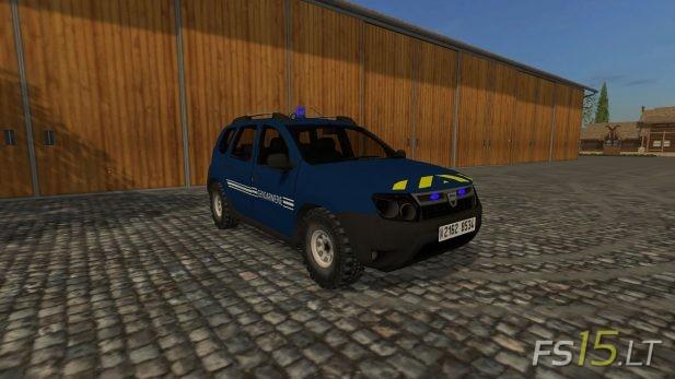 Dacia-Duster-Gendarmerie