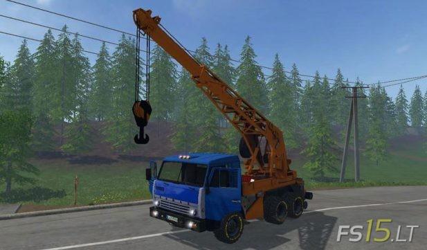 Kamaz-Crane