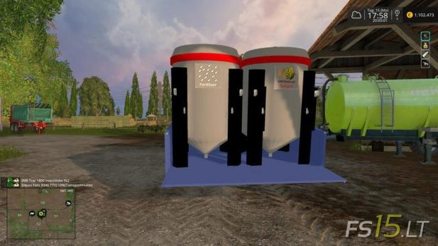Transport-Troughs-System