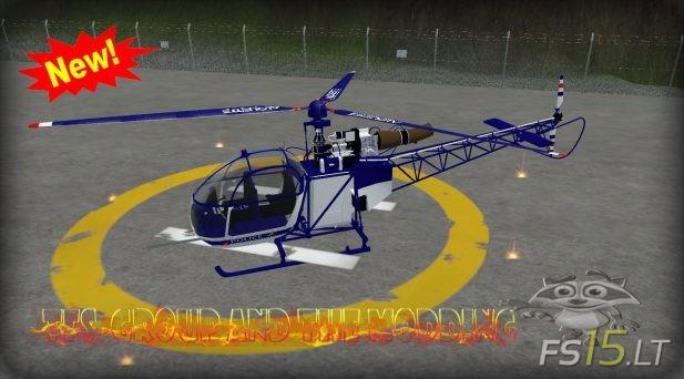Alouette-2-Police-Edition