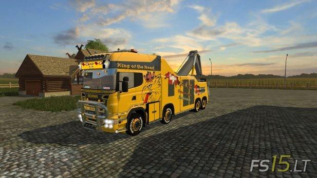 Scania-R500-Tow