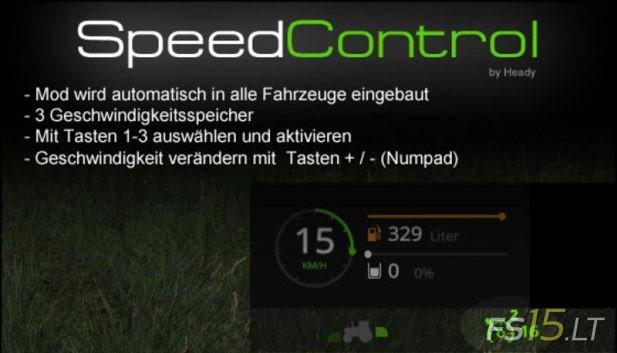 Speed-Control
