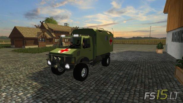 Unimog-Bundeswehr-Medical