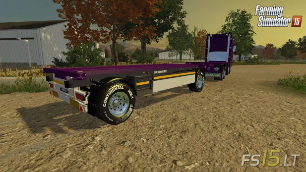 2-Axle-Container-Trailer