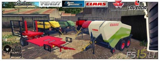 Baler | FS15 LT - Farming Simulator 2015 (FS 15) mods