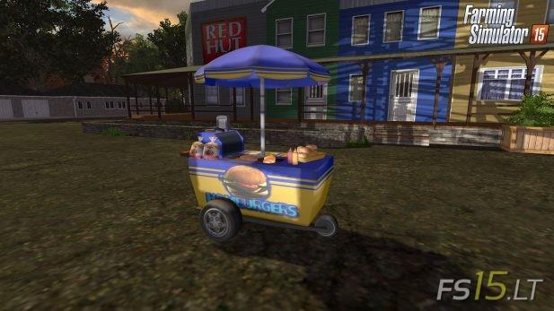 Burgers-Cart