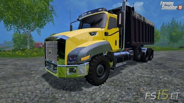 Caterpillar-T660-Dump-Truck-Tri-Axle