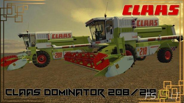 Claas-Dominator-208-&-218