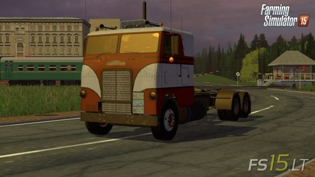 Freightliner-Cabover
